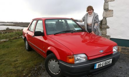1989 Ford Orion – A Graceful Sight In Beautiful Connemara.