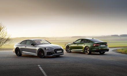 New Audi RS5 Coupé & Sportback – More Elegant & More Dynamic Than Ever.