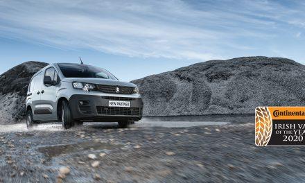 New PEUGEOT Partner is Ireland's Best-Selling Van.