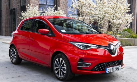 Yet Another Award For The New Renault ZOE Electric Supermini.