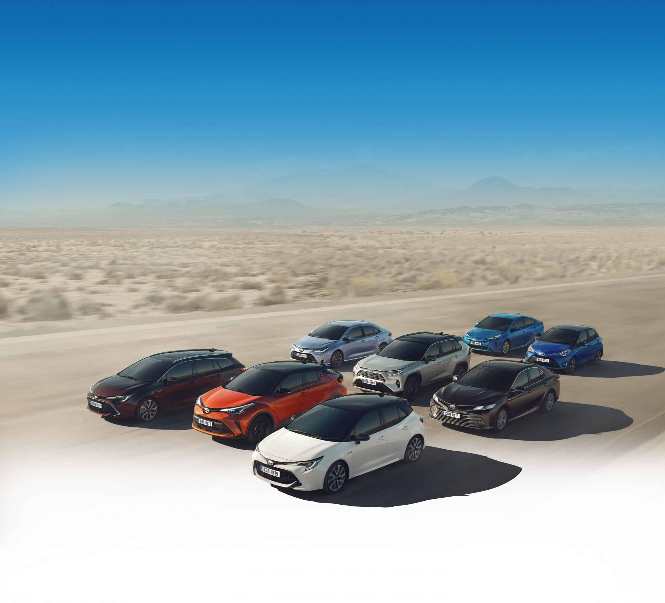 Toyota Range 2020