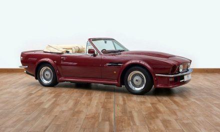 David Beckham's Vintage Aston Martin Up For Grabs.