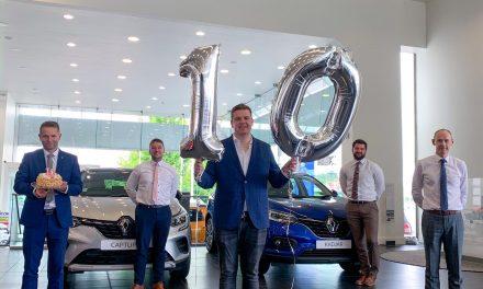 Kearys Renault celebrates 10 years in Cork.