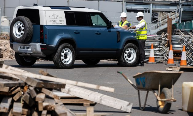 LAND ROVER DEFENDER MEANS BUSINESS AS HARD TOP NAME RETURNS FOR NEW COMMERCIAL MODEL.