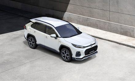 Suzuki Introduce The New 'Across' SUV.