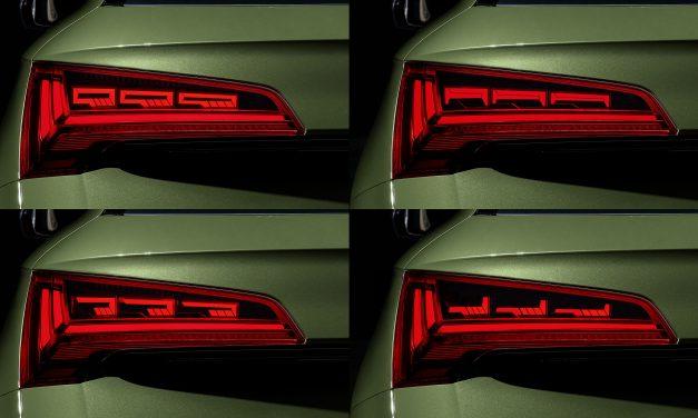 Audi fields next-generation OLED technology.