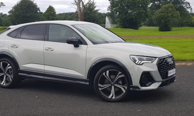 NEW AUDI Q3 SPORTBACK 35TDI 150BHP S LINE – Stylish Affluence.