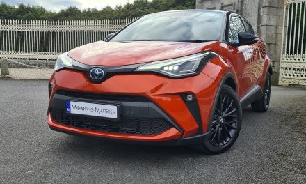 Revised Toyota C-HR is a Crossover Champion.