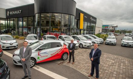 Security firm purchases 10 fully electric All-New Renault ZOE Commercial Vans from Tullamore Motors Renault.