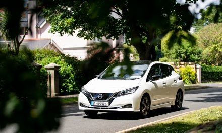 All-Electric Nissan LEAF Achieves Another Big Milestone.