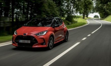 The Brand New Yaris Hybrid arrives to Toyota Dealerships.