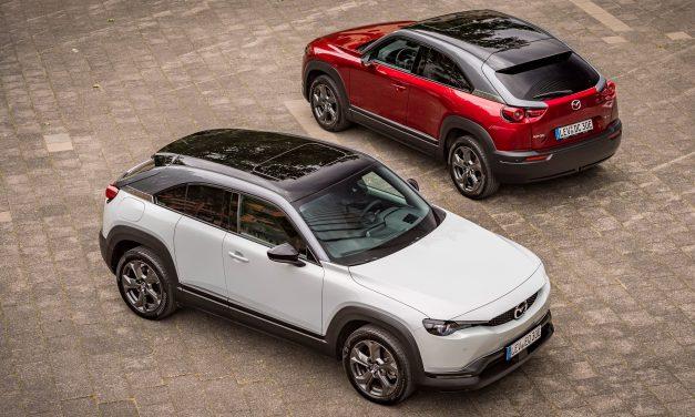 New Mazda MX-30 EV – Review By Brian Fahey.