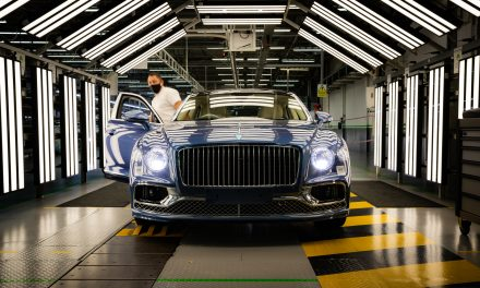 FLYING SPUR V8 PRODUCTION AND DELIVERIES UNDERWAY.