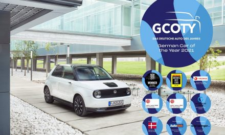 HONDA E BECOMES FIRST JAPANESE VEHICLE TO WIN 'GERMAN CAR OF THE YEAR'; ADDS TO GROWING TALLY OF GLOBAL ACCOLADES.