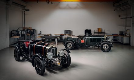 The first new Bentley Blower for 90 years.
