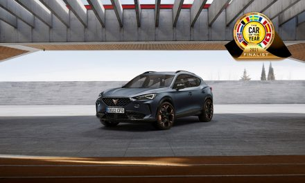 CUPRA Formentor nominated as one of the seven finalists for Car of the Year 2021 award.