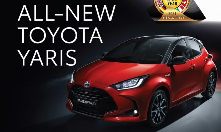 "Toyota Yaris shortlisted as finalist for ""European 2021 Car of the Year""."