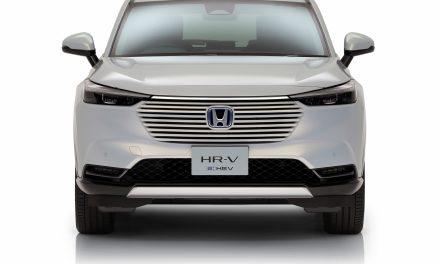Honda takes the wraps off all-new hybrid HR-V.