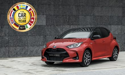 The all-new generation Toyota Yaris has been named as the 2021 European Car of the Year.