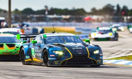 Aston Martin Vantage GT3 claims Sebring 12 Hours podium for second consecutive year.