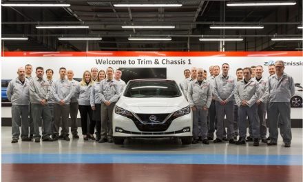 Nissan LEAF production overtakes iconic Bluebird's manufacturing in Europe.