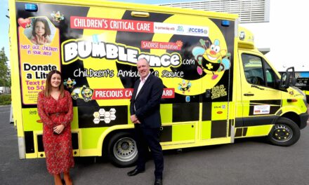 CHILDREN'S AMBULANCE SERVICE 'BUMBLEance' EXPANDS FLEET.