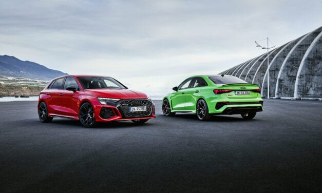 New Audi RS3 – Unmatched Sportiness Suitable for Everyday Use.