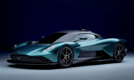 Valhalla: Sensational hybrid supercar defines the mastery of driving.