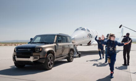 Above and Beyond: Land Rover supports Virgin Galactic's first fully crewed space flight.