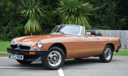 Time Capsule MGB Roadster with just 77 miles on the clock goes to auction.