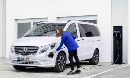 New Mercedes-Benz All-Electric eVito Tourer Van Arrives.