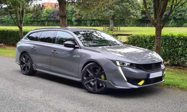New PEUGEOT 508 PSE Hybrid SW – Peugeot Sport Engineered, with low emissions as standard.